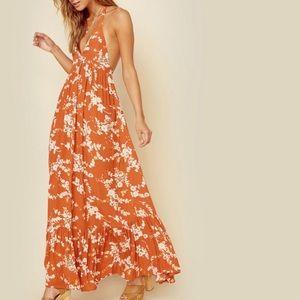 Kivari Jaipur Floral Maxi Dress